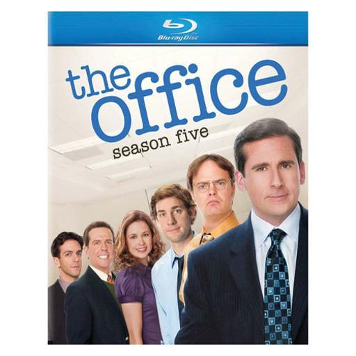 Office-season 5 (blu ray) (eng sdh/span/dts-hd/4discs) 1283554