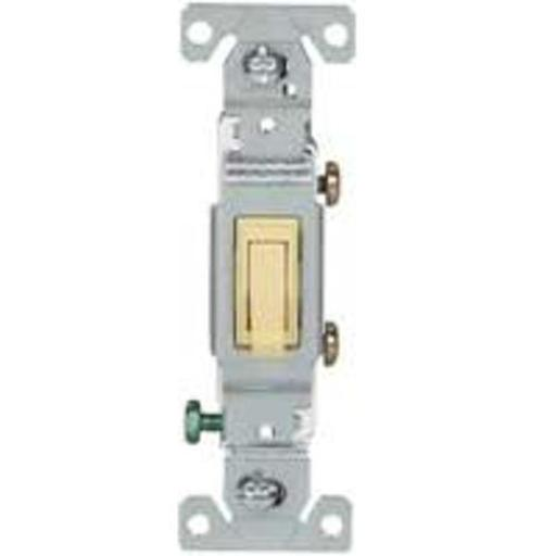 Cooper Wiring C1301-7v Ac Quiet Toggle Switch, 1 Pole, Ivory