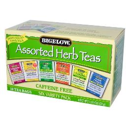 Bigelow B28245 Bigelow 6 Assorted Herbal Teas  -6x18 Bag