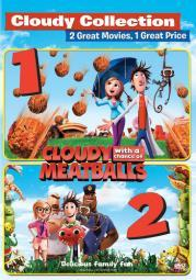 Cloudy with a chance of meatballs/cloudy with a chance of meatballs 2(dvd) D46628D