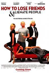 How to Lose Friends and Alienate People Movie Poster Print (27 x 40) MOVAI8357
