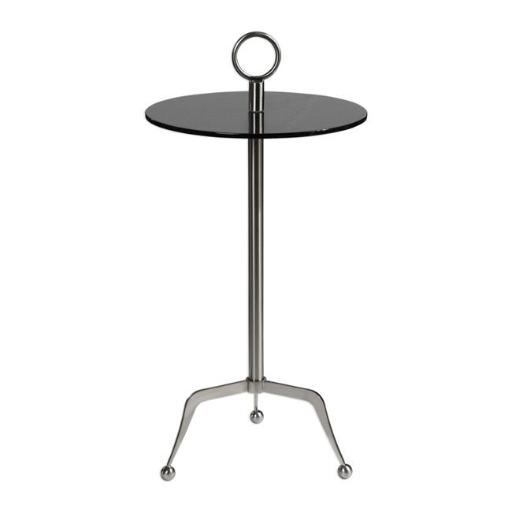 Uttermost 24751 Astro Stainless Steel Accent Table
