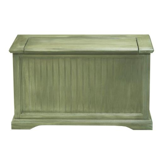 Eagle Furniture 72418NGSS Coastal Hall Storage Bench, Summer Sage