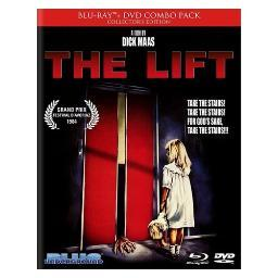 Lift (blu ray/dvd) ltd ed/ws/1.66:1/dts-hd/dutch/eng w/eng sdh & sp sub) BRBLU8015
