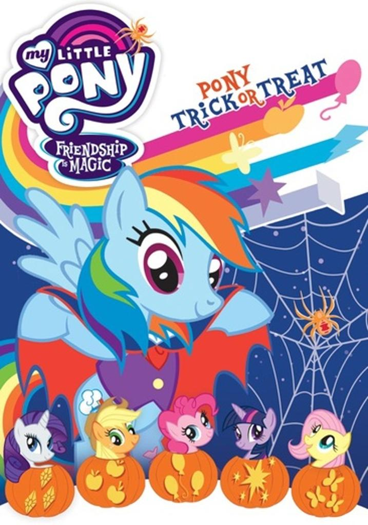 My little pony friendship is magic-pony trick or treat (dvd)