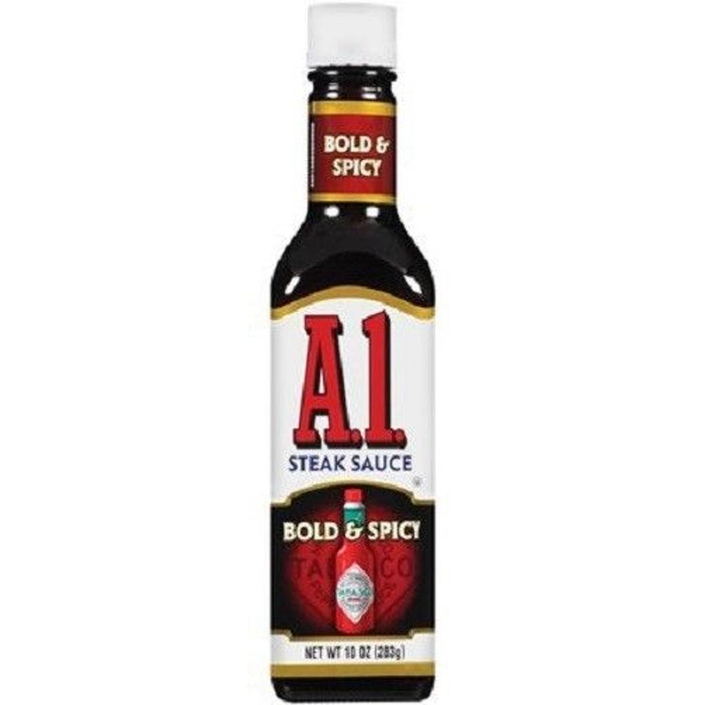 A1 Steak Sauce Bold & Spicy Flavor 10 oz Bottle