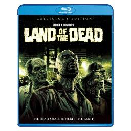 Land of the dead collectors edition (blu ray) (ws/2.35:1/2discs) BRSF18049