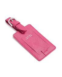 Campo Marzio Unisex Leather Luggage Power Luggage Tag Color Pink