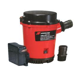 Johnson pump 1600gph ultima combo auto bilge pump