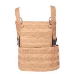 5ive Star Gear TSP-6580000 Molle Rack Vest, Coyote
