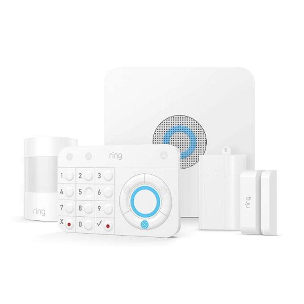 Ring Alarm 5 Piece Kit – Smart Home Security System – Works with Alexa