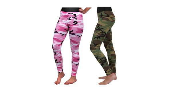 Rothco Womens Camouflage Leggings