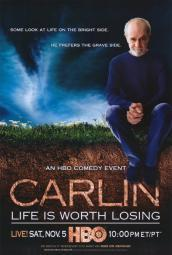 George Carlin: Life Is Worth Losing Movie Poster Print (27 x 40) MOVIH8394