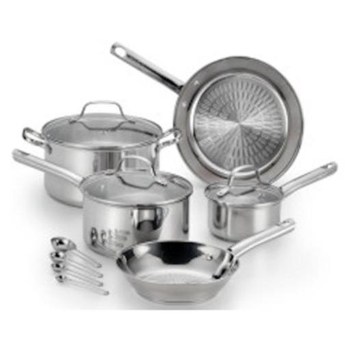 T-Fal & Wearever 221532 Stainless Steel Cookware Set