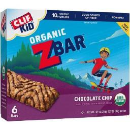 Clif Kid Organic Z Bar Chocolate Chip