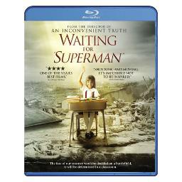 Waiting for superman (blu ray)                                nla BR142224