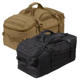 Rothco 3-In-1 Convertible Duffle/Backpack MOLLE Mission Bag w/Shoulder Strap 23500