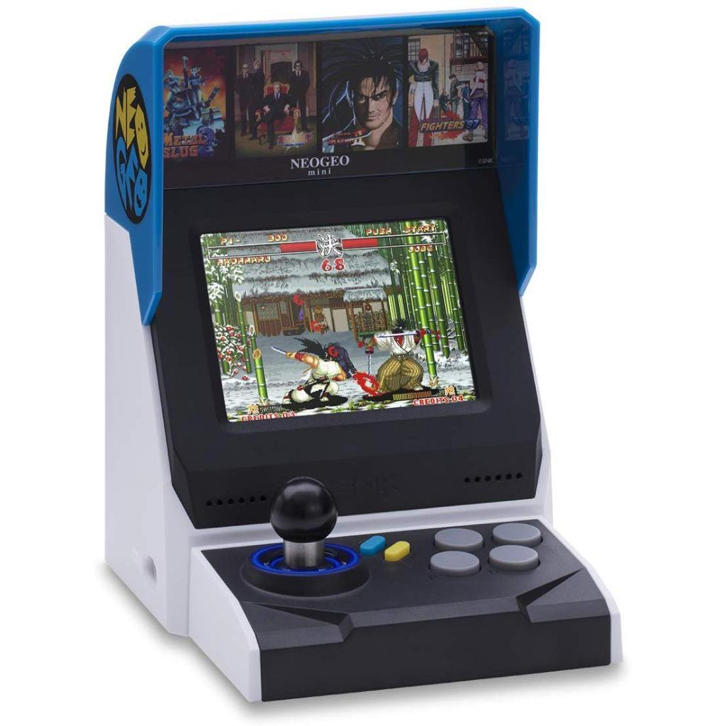 NEOGEO Mini International Handheld Video Game Console with 40 Games