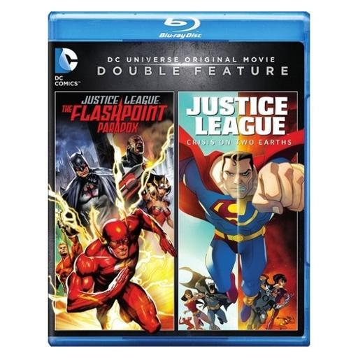 Dcu justice league-flashpoint paradox/crisis on two earths (blu-ray/dbfe) 1287602
