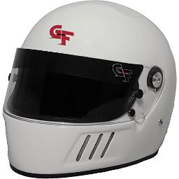G-Force GF3 Unisex-Adult Full-Face Helmet (White,Small) (SA2015) 3123SMLWH