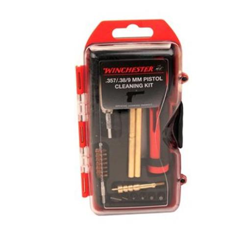 0.38 by 9mm Pistol Cleaning Kit & 6 Piece Driver Bit Set - 14 Piece