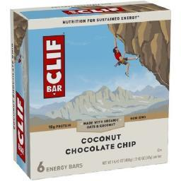Clif Energy Bars Coconut Chocolate Chip