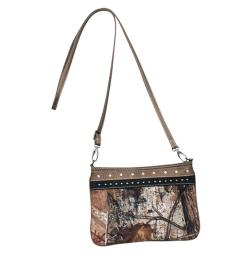 Realtree Handbag Womens Emma Crossbody Realtree Brown Black 1506477 1506477
