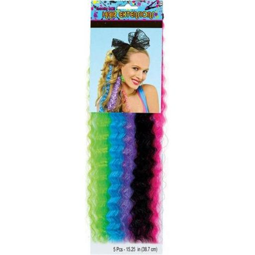 Amscan 840769 Crimped Hair Extensions - Pack of 30 KJNSWZVF1OVCBGLH