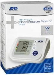 A&D Medical Multi-User Blood Pressure Monitor UB-767F