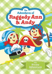 Adventures of raggedy ann & andy-pirate adventure v1 (dvd)