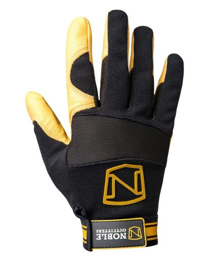 Noble Outfitters Gloves Mens Womens Work MaxVent Black Tan 51011 1383359