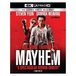 Mayhem (blu ray/4kuhd/ultraviolet/digital hd) BRRAG10274