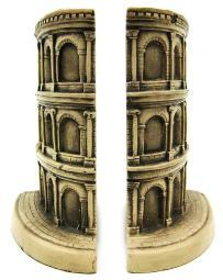 The Roman Colosseum Bookends Rome