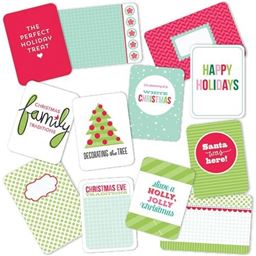 American Crafts Becky Higgs Project Life Christmas Merry And Bright Edition Collection Mini Kit