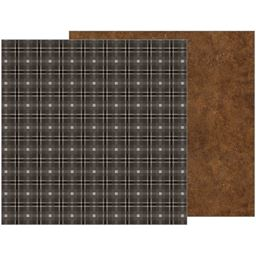 American Craft Pebbles Warm And Cozy Collection 12 X 12 Double Sided Paper Afternoon Naps